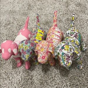 PINK Collectable Dogs Set
